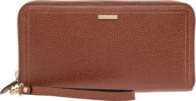 Lodis Stephanie Vera Wristlet Wallet with RFID Protection Chestnut - Lodis Ladies Small Wallets